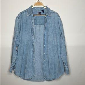 Women's vintage GAP flannel Large